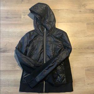 Lululemon zip jacket with hood